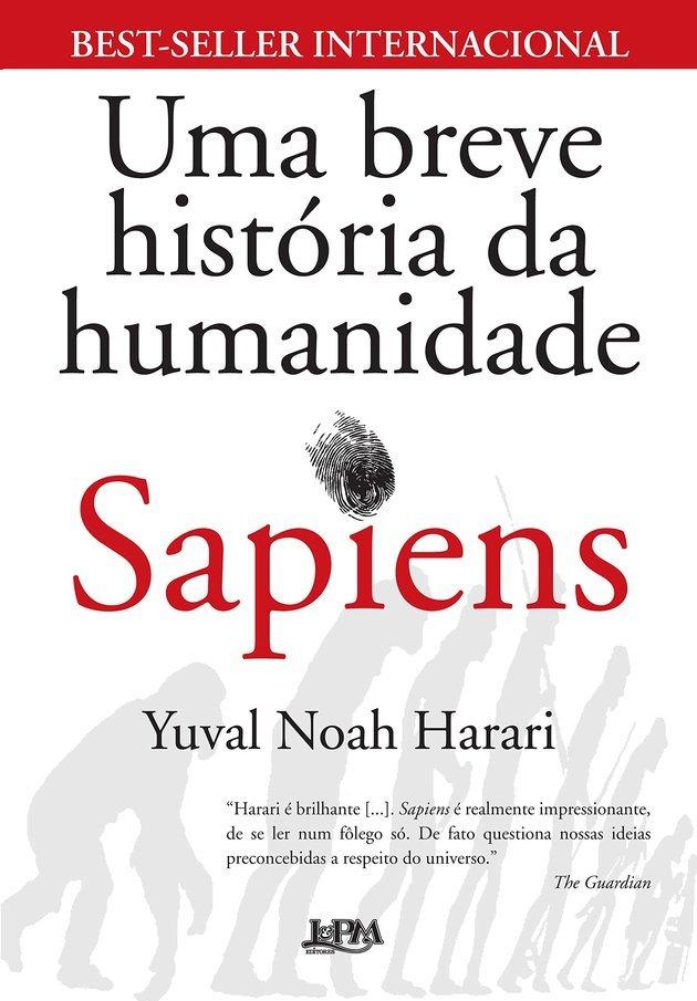 Sapiens: História Breve da Humanidade, de Yuval Noah Harari