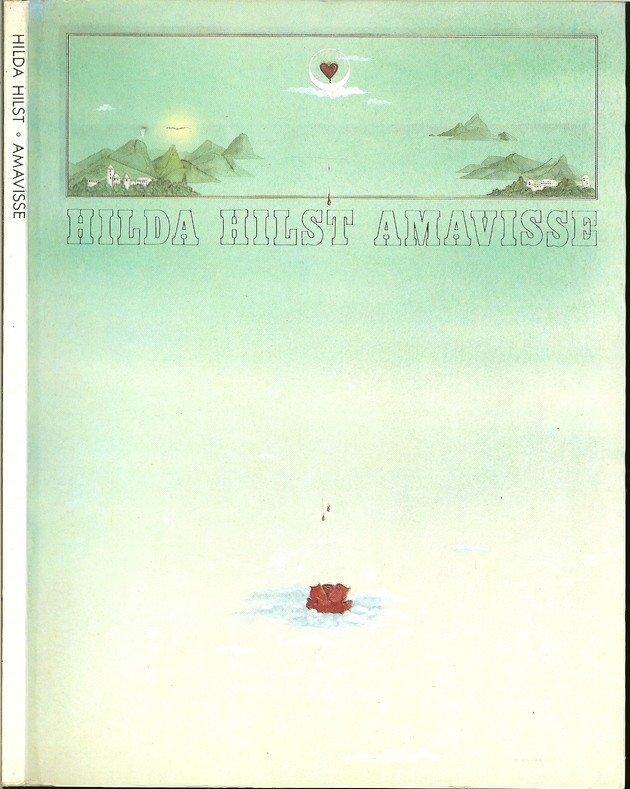 Capa da primeira edição de Amavisse, de Hilda Hilst.