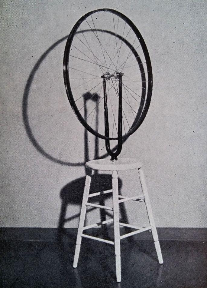 Roda de bicicleta (1913), Marcel Duchamp