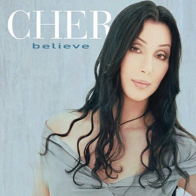 Capa do álbum Believe, lançado em 1998.