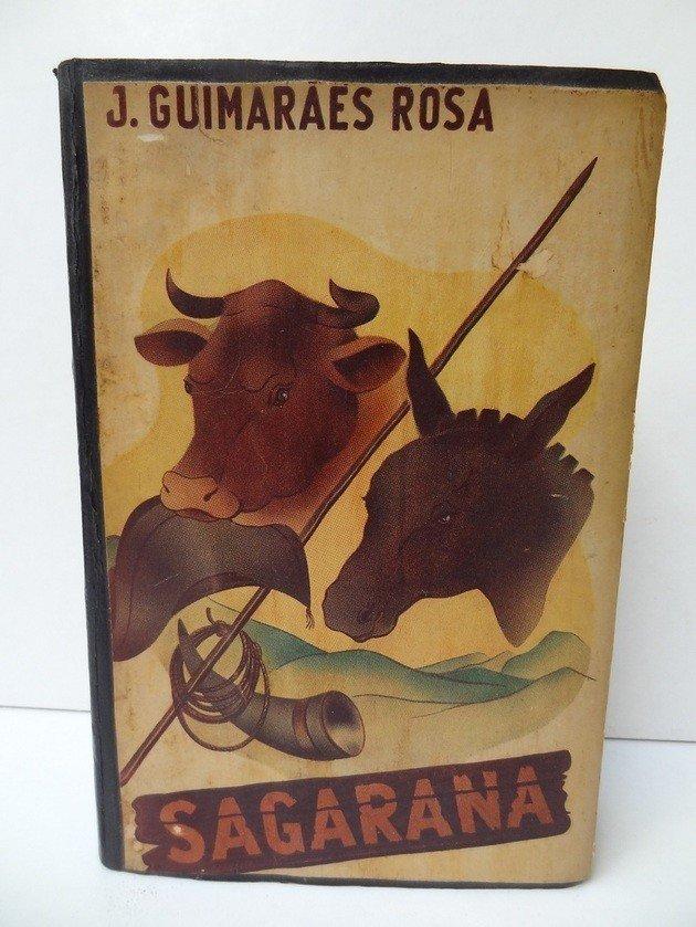 Capa da primeira edição de Sagarana, publicada em 1946.
