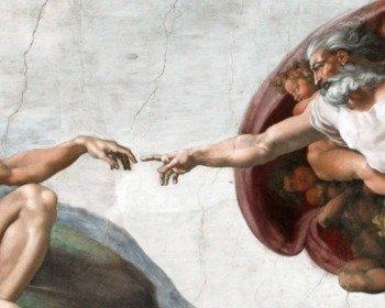 A Criação de Adão de Michelangelo