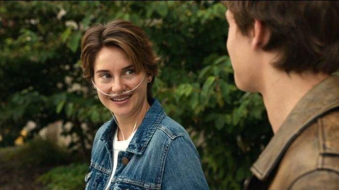 Hazel conhece Gus num grupo de apoio