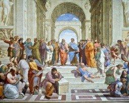 A Escola de Atenas, de Rafael Sanzio