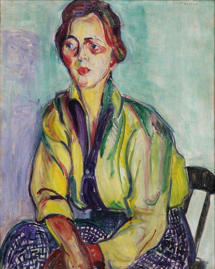 A estudante russa, Anita Malfatti