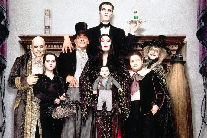 personagens de A família Addams