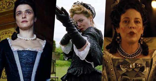 A história de A Favorita gira em torno do triângulo Abigail, Rainha Ana e a Duquesa Marlborough.