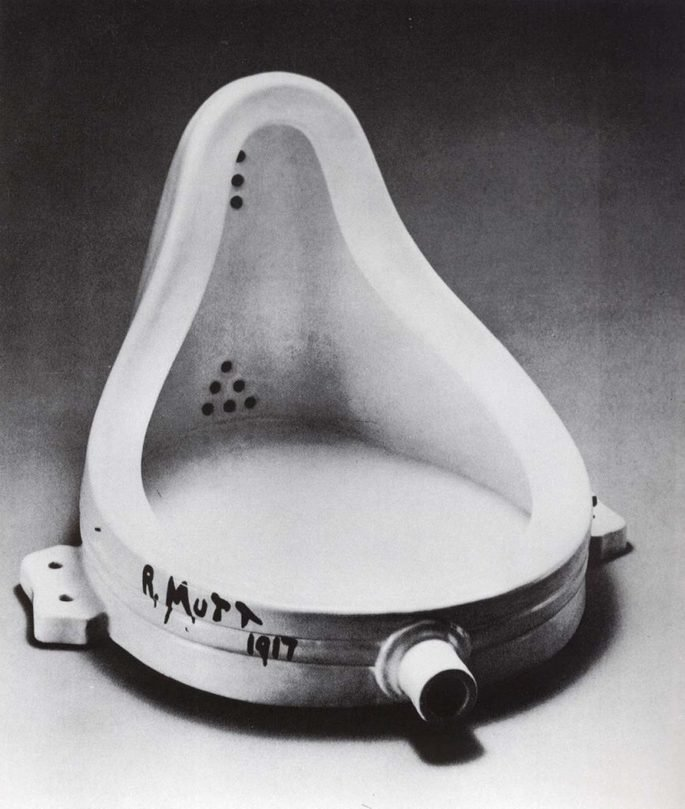 a fonte de duchamp