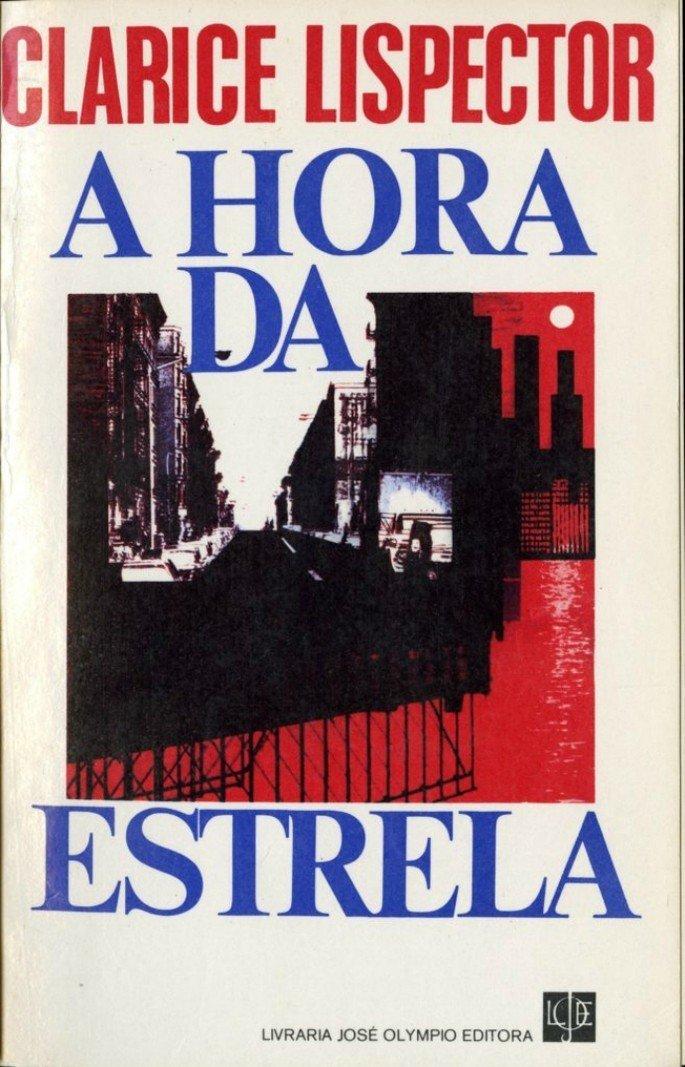 capa da primeira edição de A hora da estrela