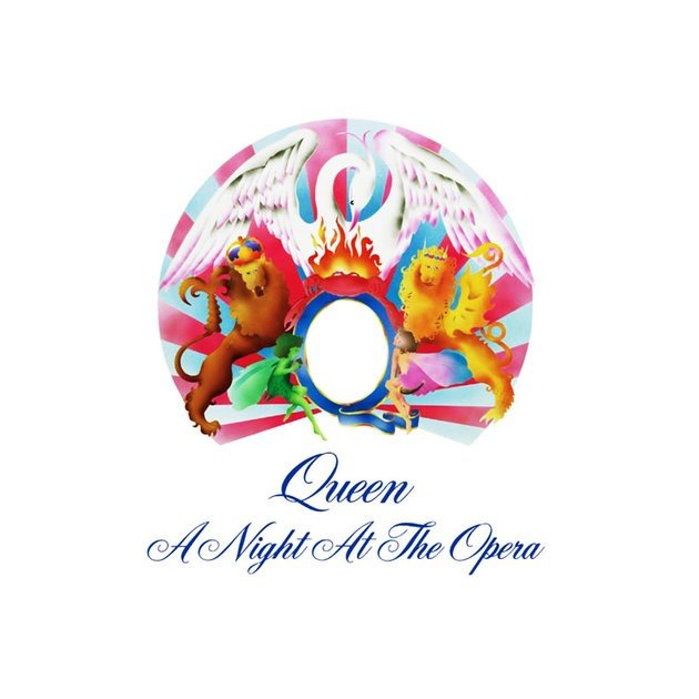 Capa do disco A Night at the Opera.