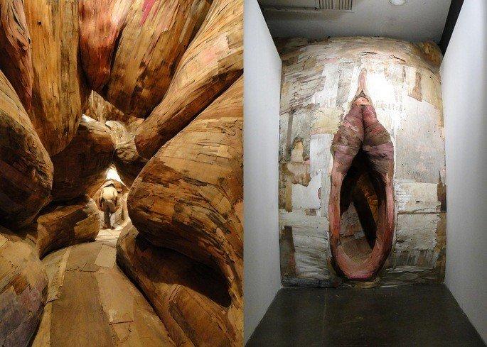 A Origem do Terceiro Mundo, instalação de Henrique Oliveira