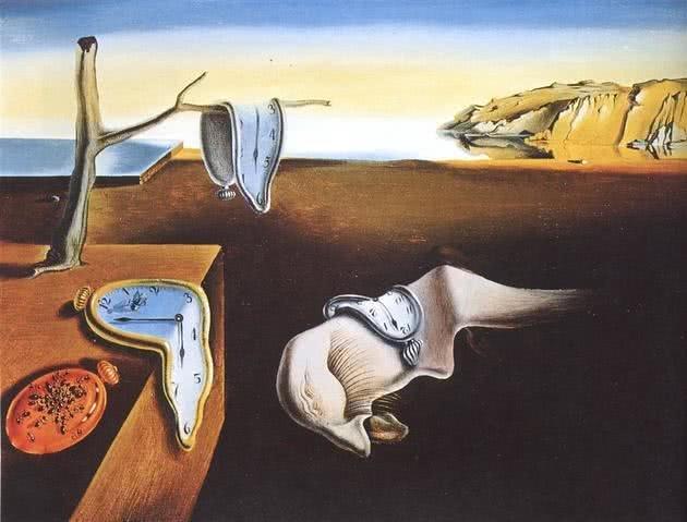 A persistência da memória, de Salvador Dali