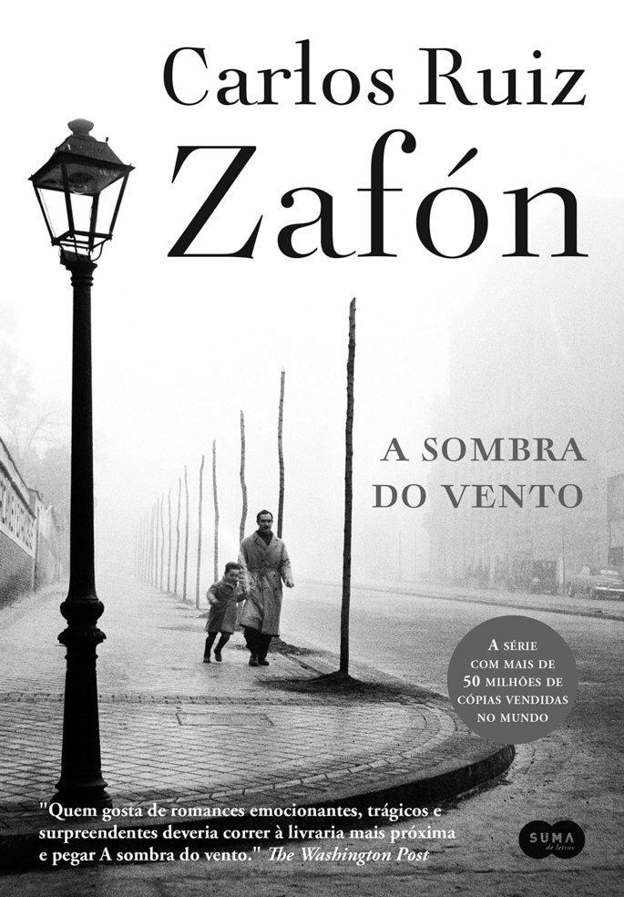 Livro A Sombra do Vento.