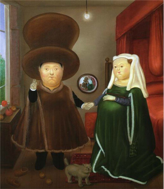 After the Arnolfini Van Eyck