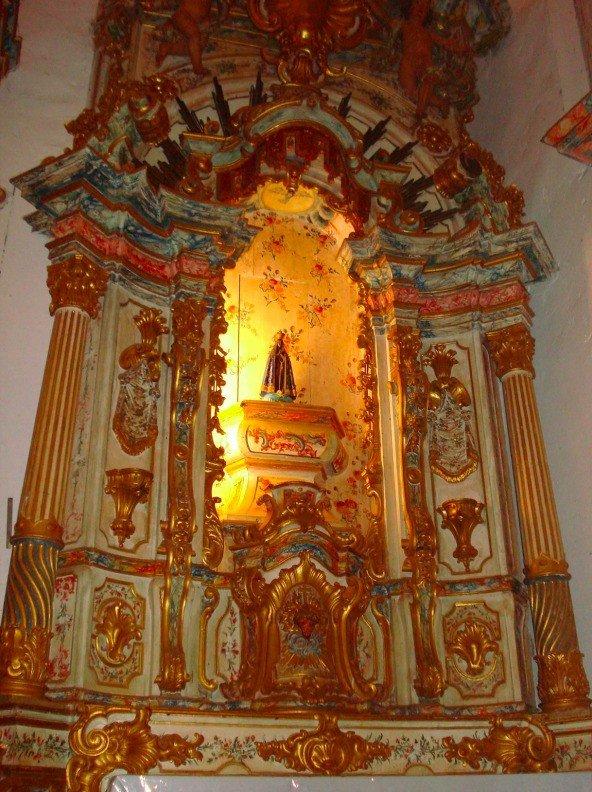 Altar Nossa Senhora do Rosário
