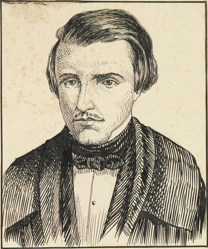 Retrato de Álvares de Azevedo.