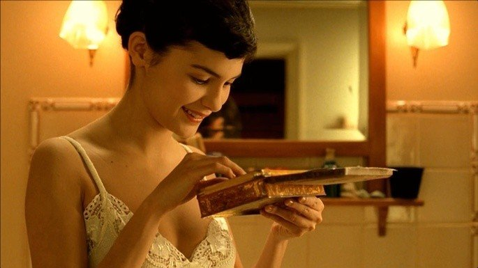 Amélie encontra um 'tesouro'