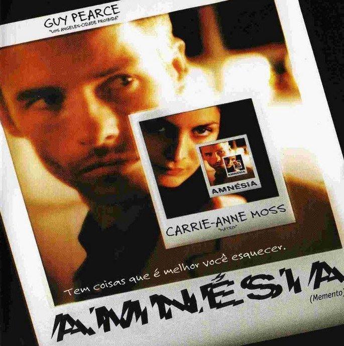 Cartaz do filme Amnésia.