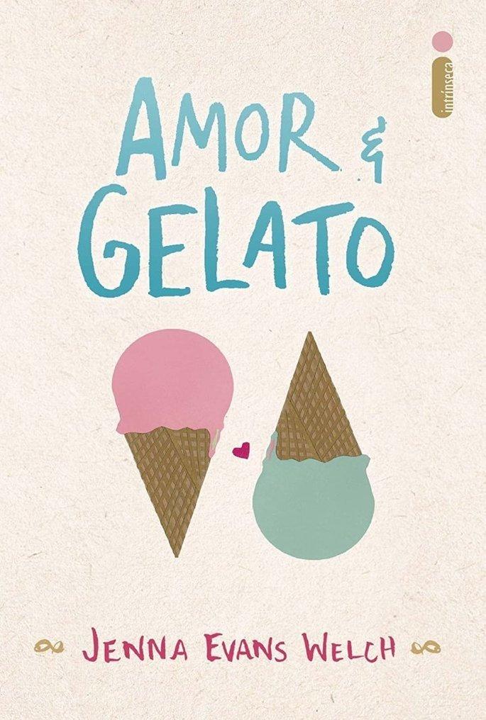 Capa do livro Amor e Gelato