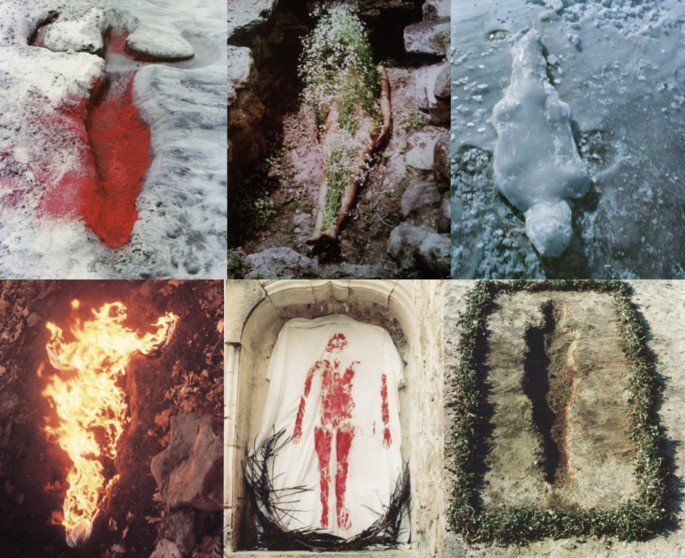 body art Ana Mendieta
