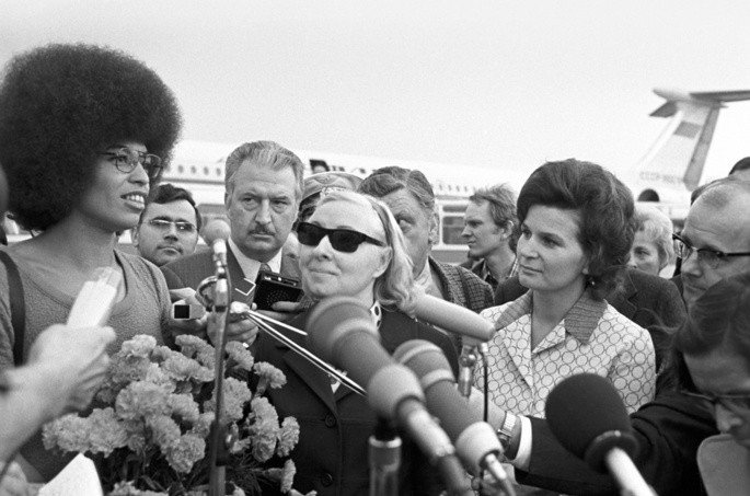Angela Davis em 1972