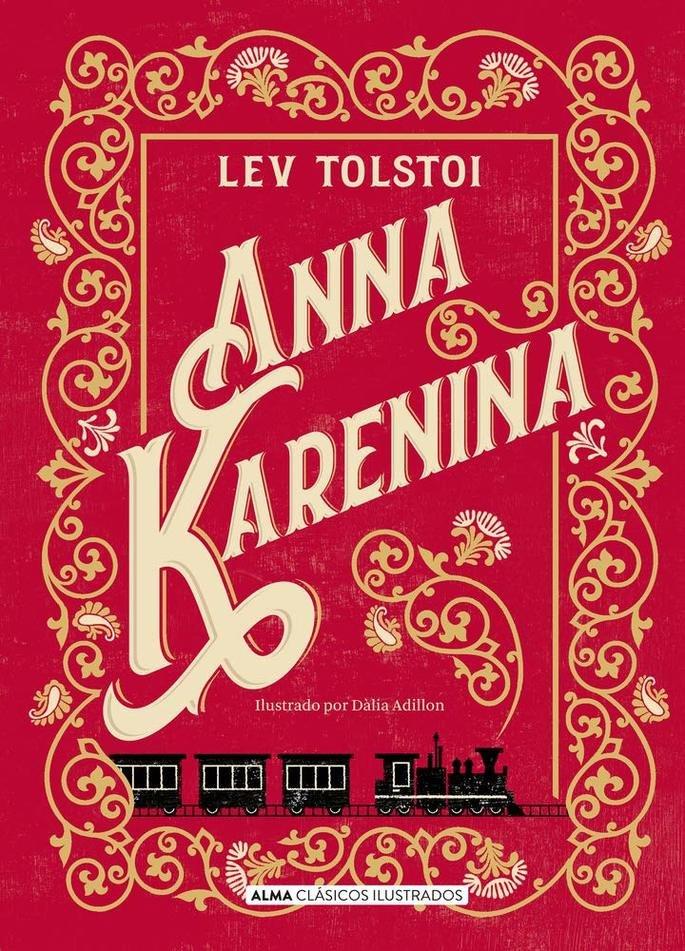 Capa do livro Anna Karenina