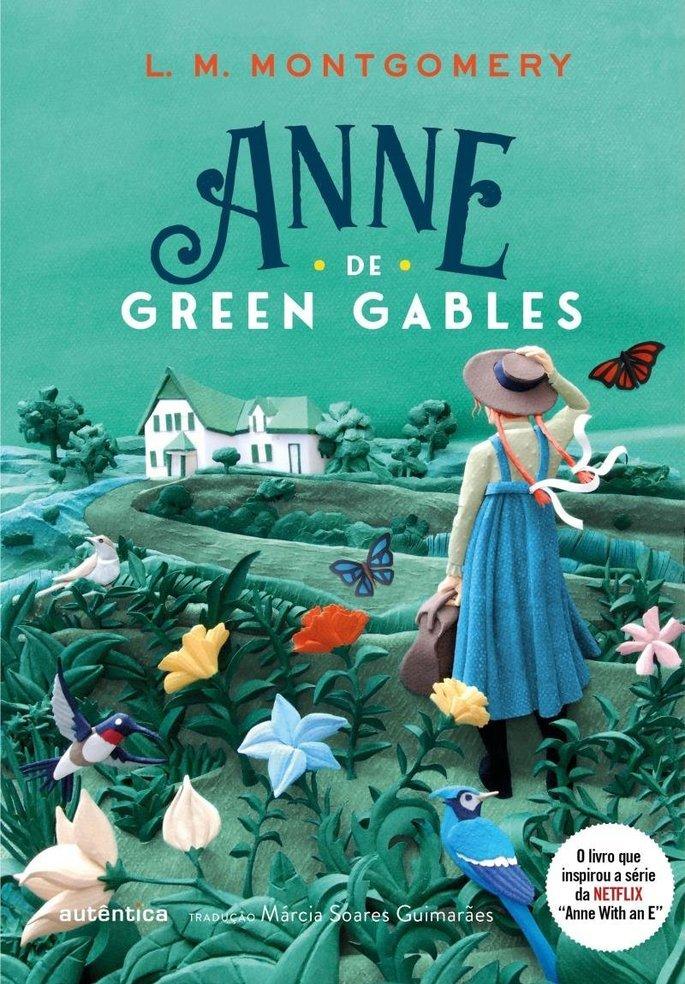 Capa do livro Anne de Green Gables