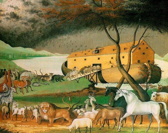 Quadro Arca de Noé, de Edward Hicks.