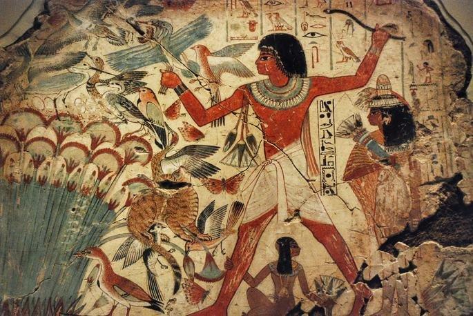 Pintura do túmulo de Nebamun