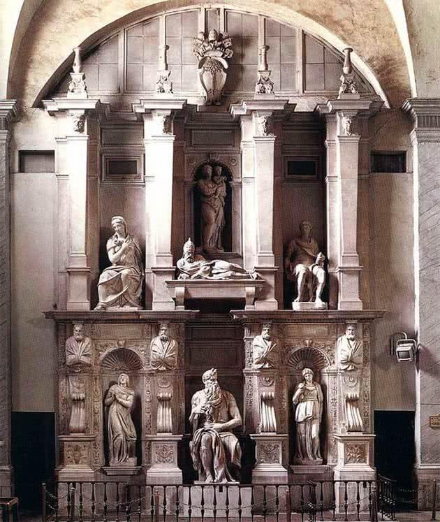 Túmulo de Júlio II - San Pietro in Vincoli, Roma
