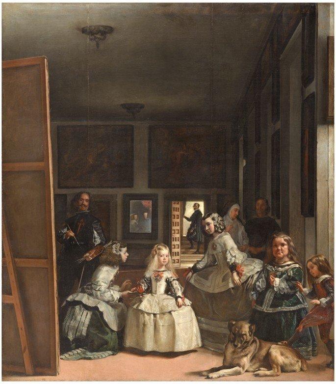 A meninas, de Velázquez