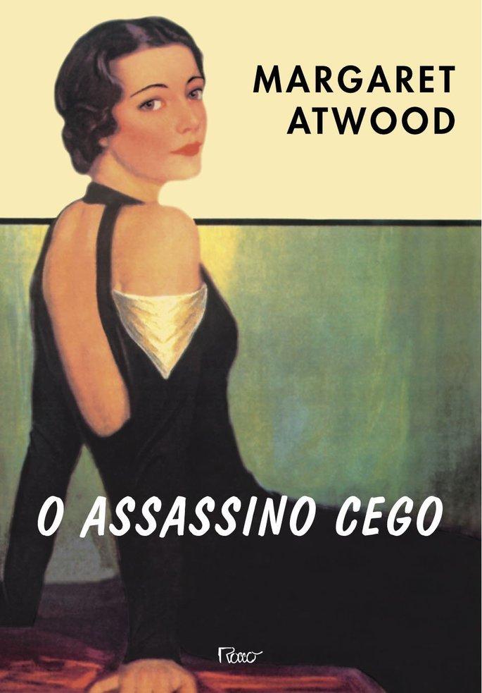 Capa do livro O Assassino Cego.