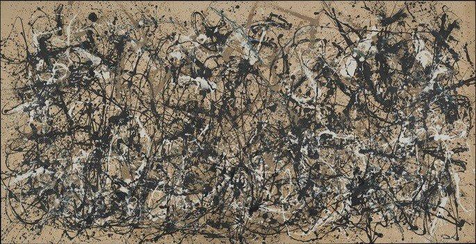 Autumn Rhythm: Number 30 de Jackson Pollock (1950)