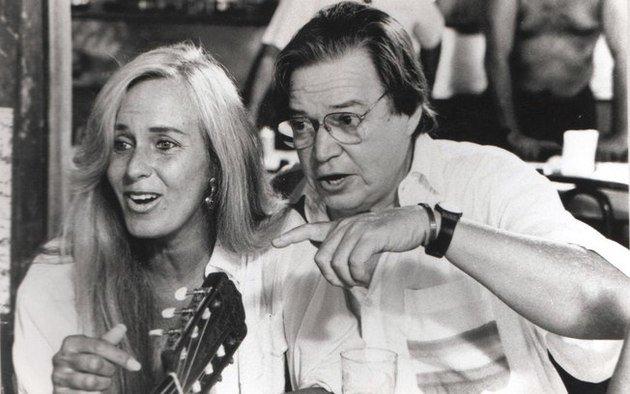 Helô Pinheiro e Tom Jobim.