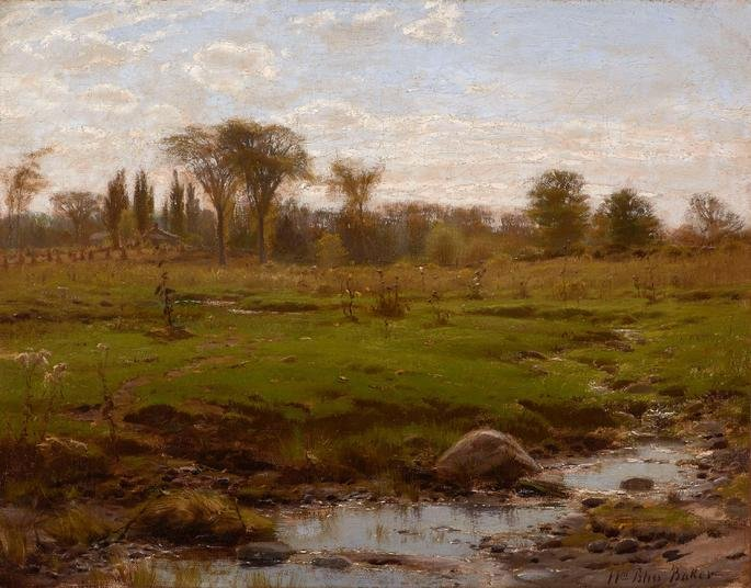 William Bliss Baker, Early Summer.