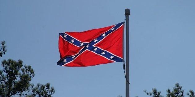 Bandeira da Confederação.
