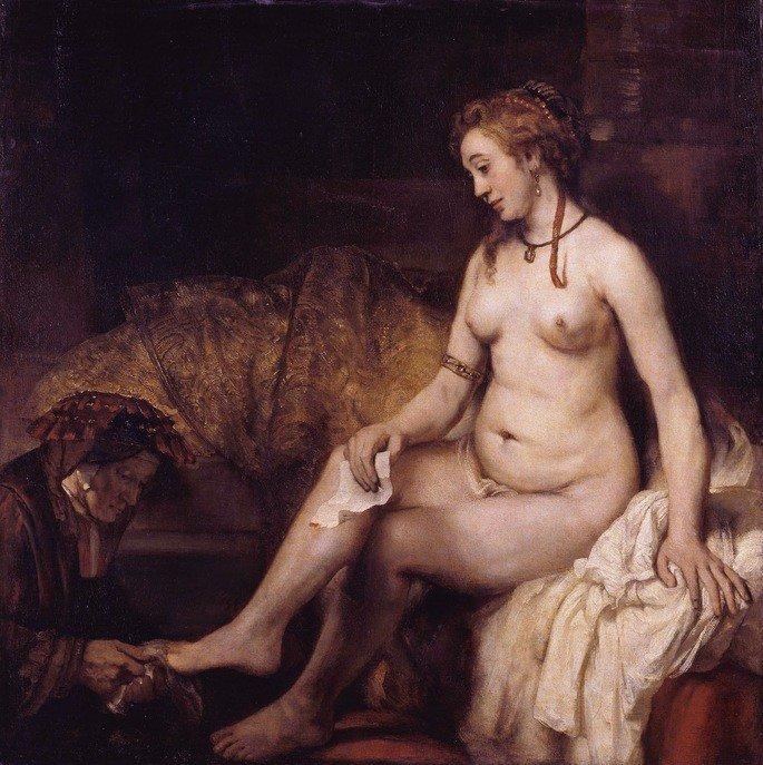 Betsabá e seu banho