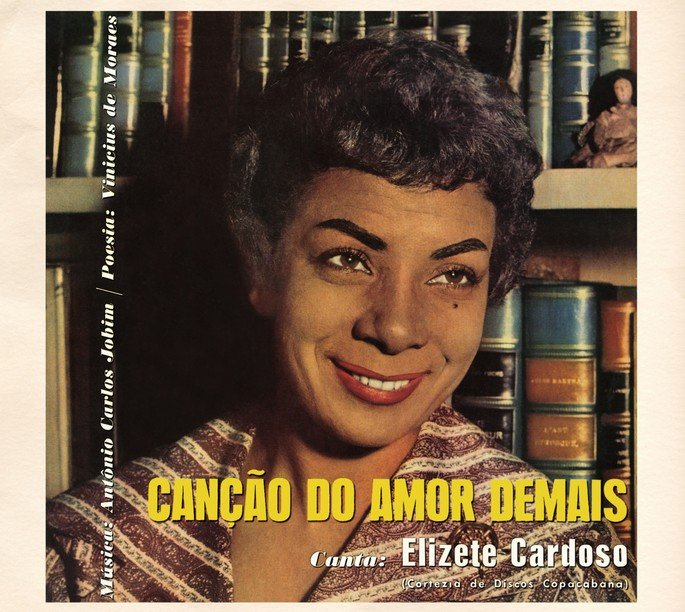 Capa do disco Canção do amor demais