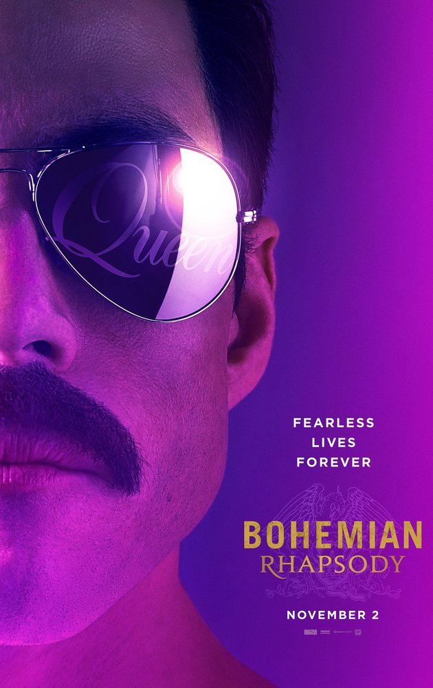 Cartaz do filme Bohemian Rhapsody.