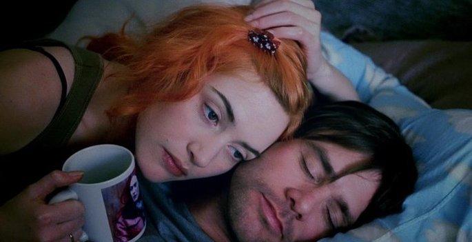 cena do filme Brilho eterno de uma mente sem lembranças