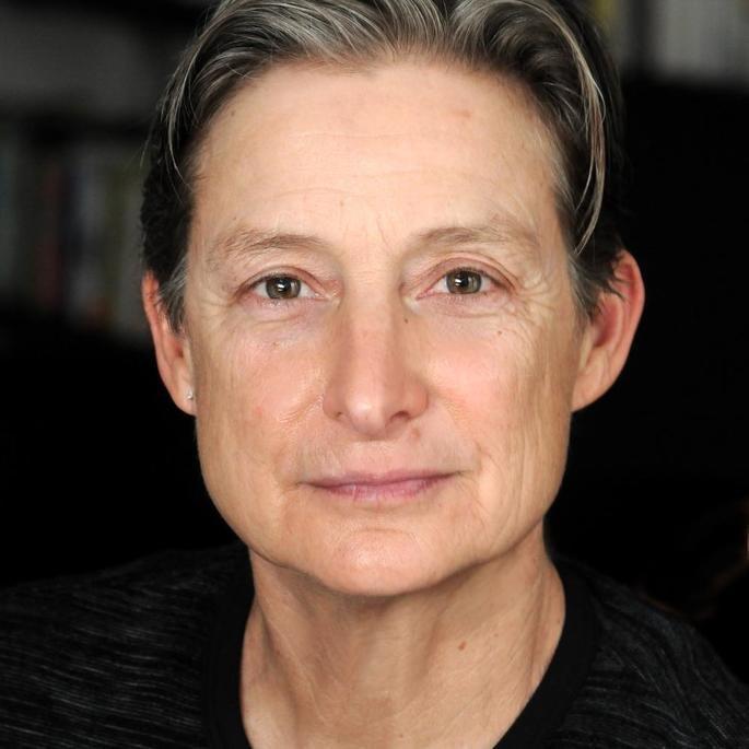 Retrato de Judith Butler.