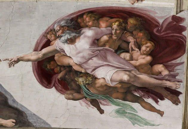 A criação de Deus mensagem subliminar cérebro