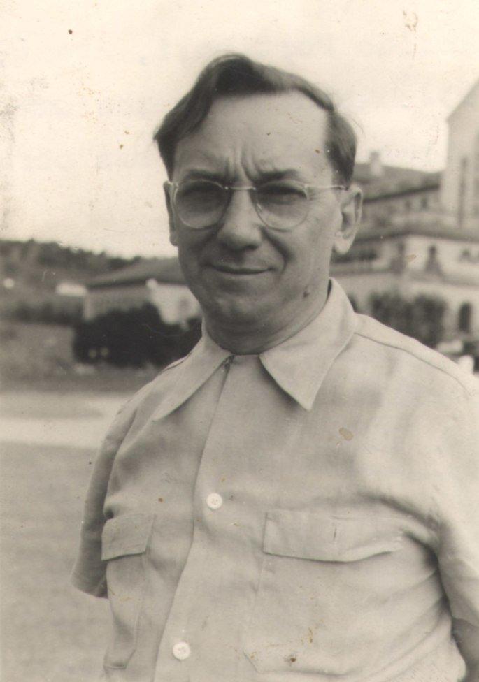 Retrato de Candido Portinari em 1962