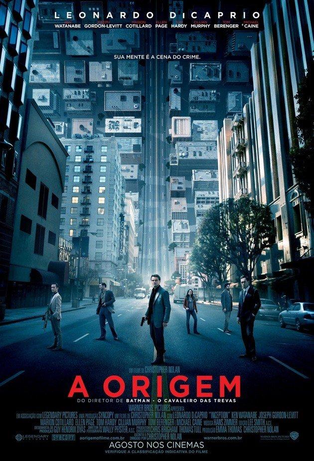 Cartaz do filme A origem.