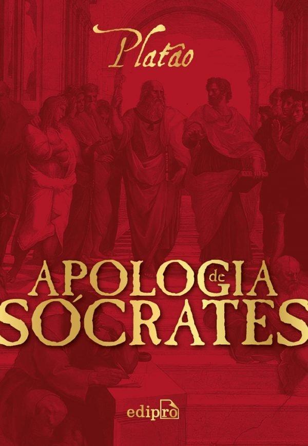 Capa do livro Apologia de Sócrates.