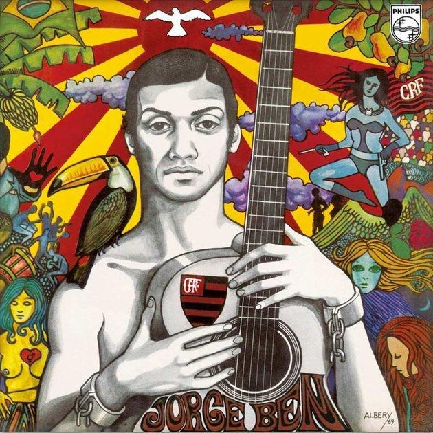 Capa do LP de Jorge Ben, lançado em 1969.