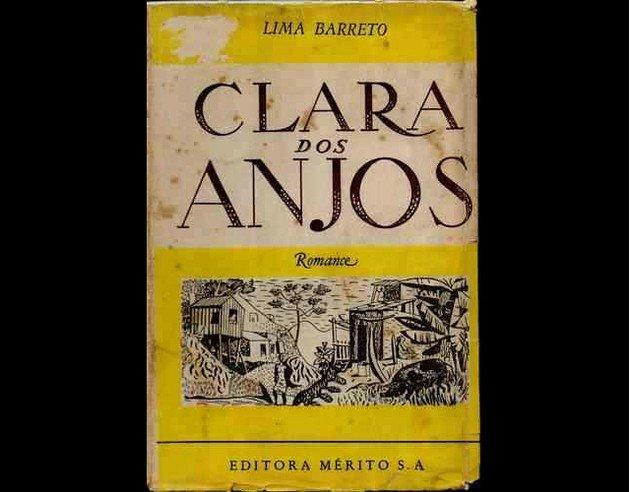 Capa da primeira edição de Clara dos Anjos.