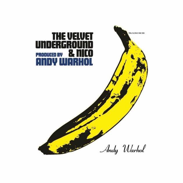Capa do primeiro álbum da banda Velvet Underground.