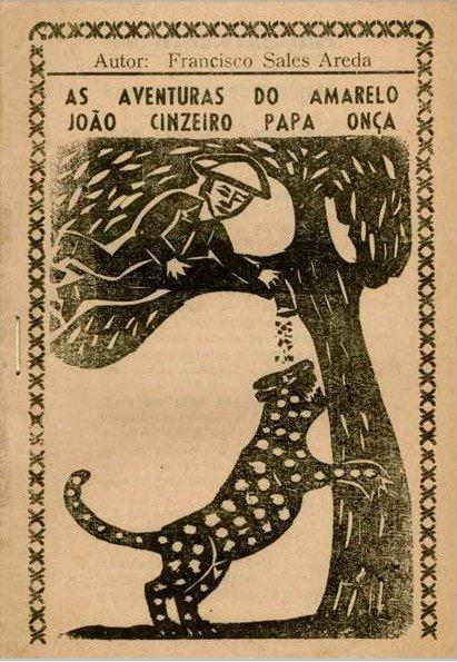 As aventuras do amarelo João Cinzeiro papa onça