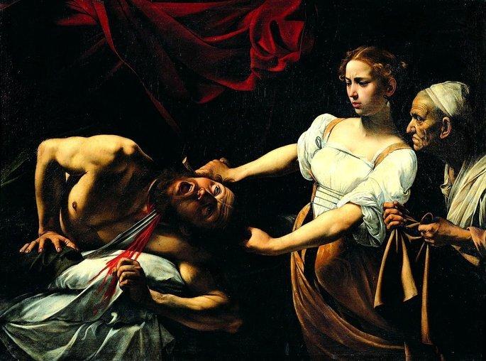 Quadro Judite e Holofernes.